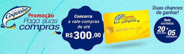 """Promoção """"Coqueiro paga suas Compras"""" #topdapromocao @topdapromocao www.topdapromcoao.com.br http://topdapromocao.blogspot.com facebook instagram twitter pinterest youtube blogger sorteio prêmios carro dinheiro Coqueiro Sardinha"""