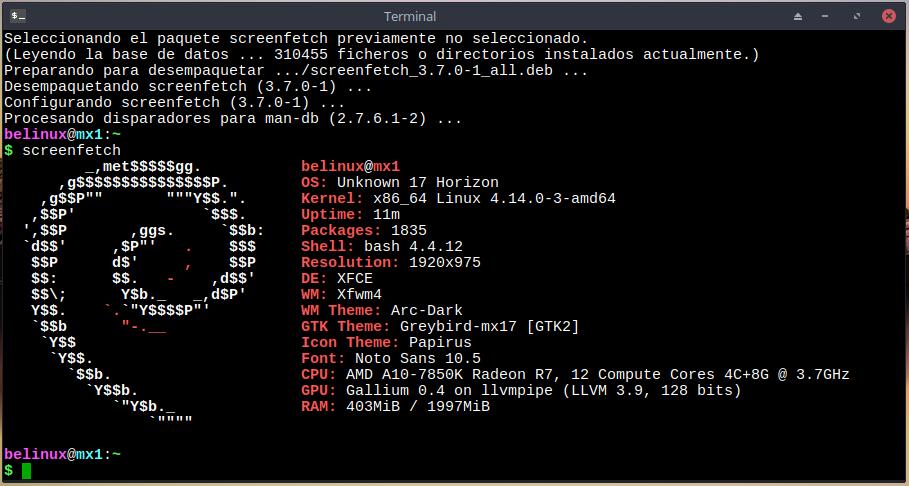 Ubuntu Linux: Instalación y prueba de la distribución MX