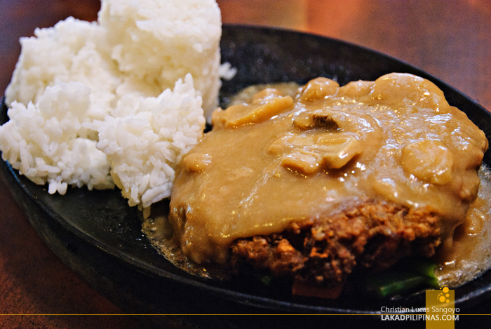 Zola Resto Cafe Baguio Burger Steak