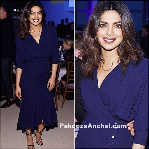 Priyanka Chopra in Michael Kors Elite Dress
