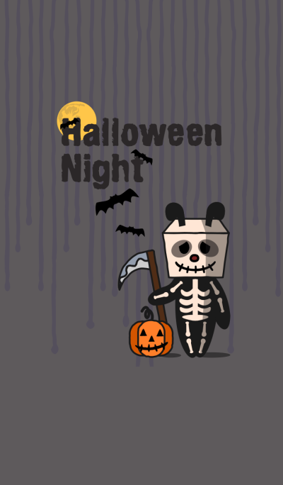 H'ween nite + silver gray [os]
