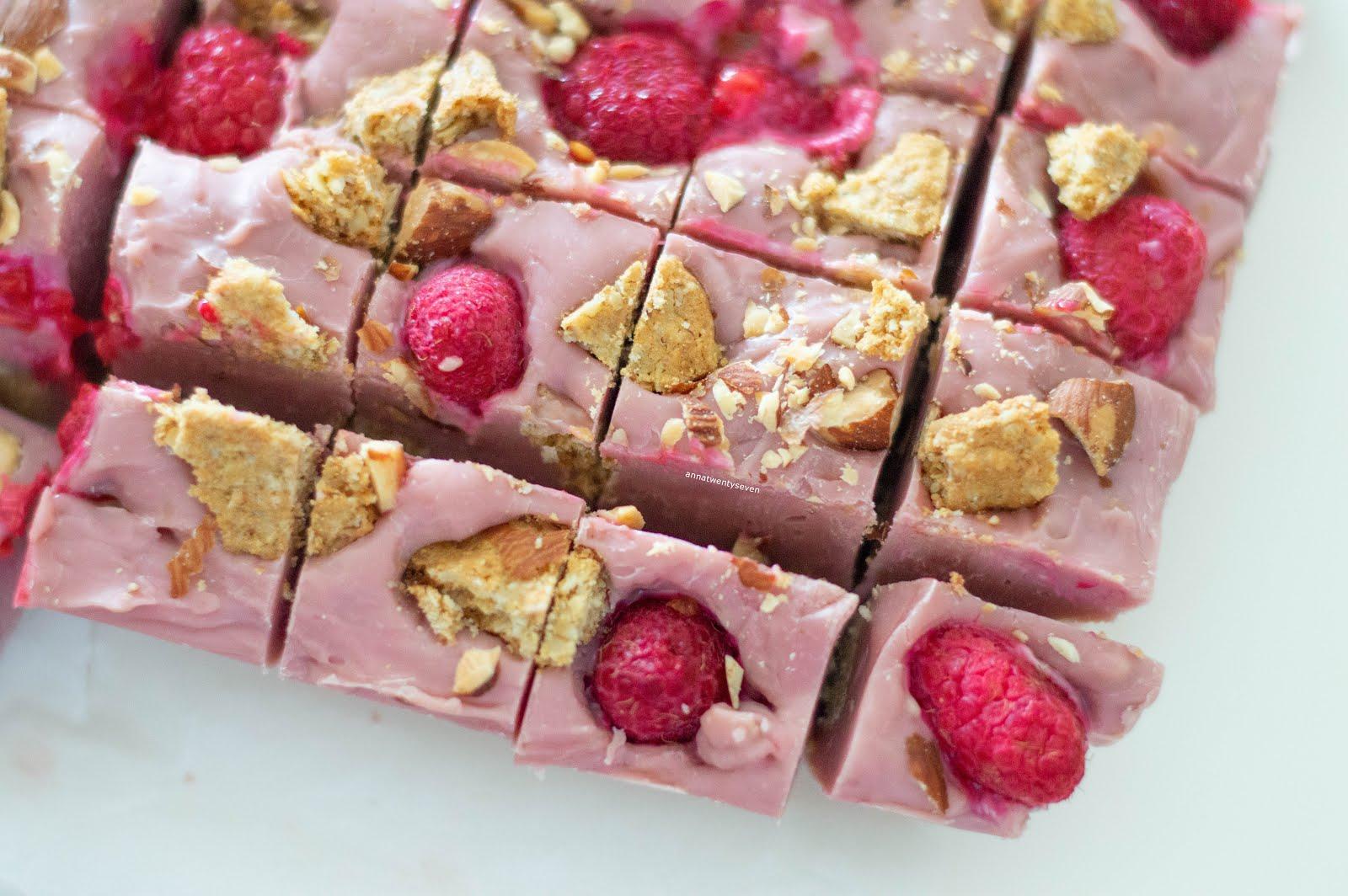 PINK CHOCOLATE FUDGE RECIPE   ANNA TWENTY SEVEN