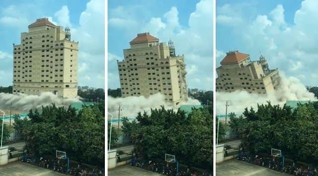 شاهد تدمير فندق من الدرجة الأولى خلال 10 ثوان فقط!