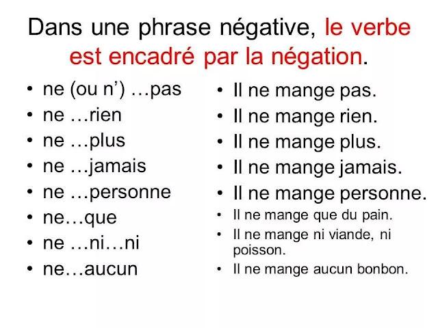 Przeczenie - gramatyka 13 - Francuski przy kawie