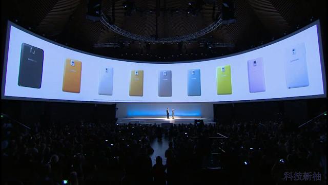 詳盡報導 SAMSUNG Galaxy Note 3、Note 10.1、 Galaxy Gear 發表會內容 Galaxy+Note+3+-12
