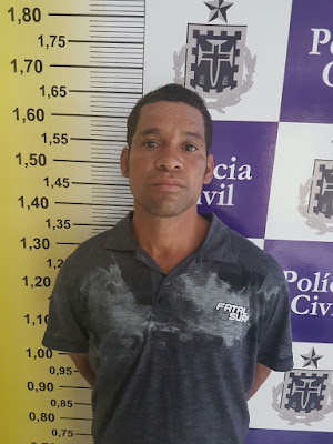 Resultado de imagem para Homem é preso suspeito de estuprar enteada de três anos em Feira de Santana
