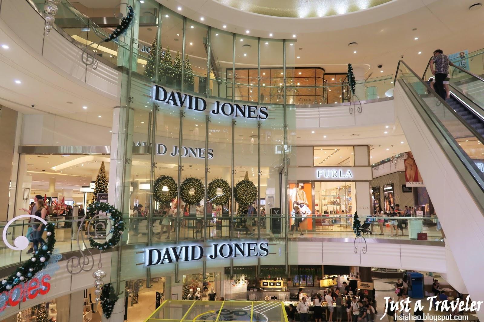 布里斯本-景點-推薦-皇后街-女王街-逛街購物-David-Jones-旅遊-自由行-澳洲-Brisbane-Queen-Street-Travel-Tourist-Attraction-Australia