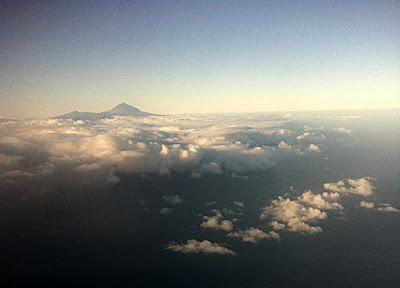 Teide desde el avion