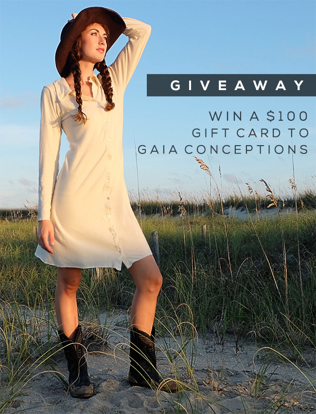 GIVEAWAY // Win A $100 Gift Card to Gaia Conceptions from Bubby and Bean!
