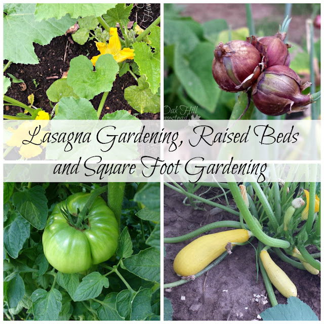 Lasagna Gardening, Raised Beds and Square Foot Gardening