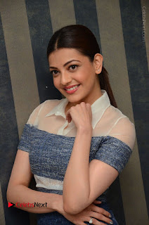 Actress Kajal Agarwal Latest Stills at Khaidi No 150 Movie Interview  0103.JPG