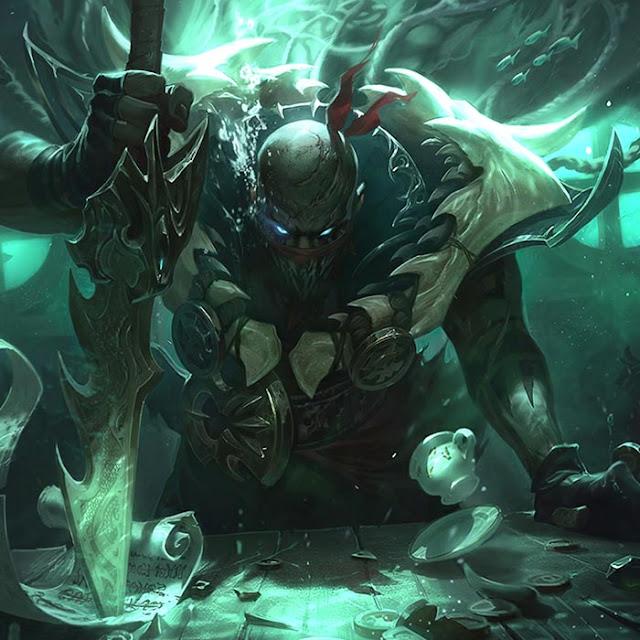 Pyke League Of Legends Wallpaper Engine