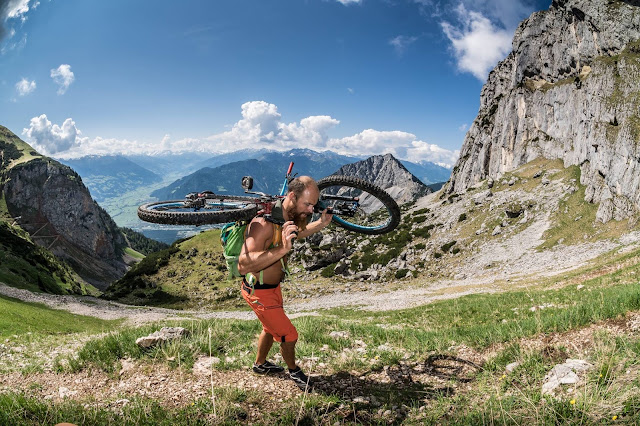 Die besten Gipel zum Bikebergsteigen am Achensee