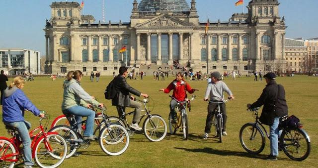 Passeios de Bicicleta em Berlim
