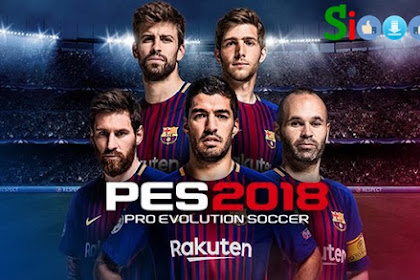 How to Free Download Game Pro Evolution Soccer 2018 (PES 2018) for Computer PC Laptops