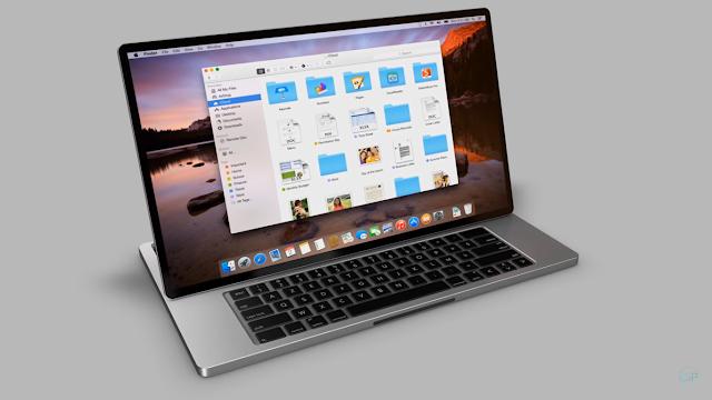 Ý tưởng về một chiếc Macbook Pro với màn hình cảm ứng