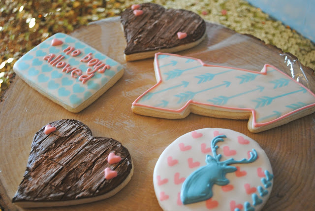 Galentine's Day brunch cookies by Creating Awesomenessity