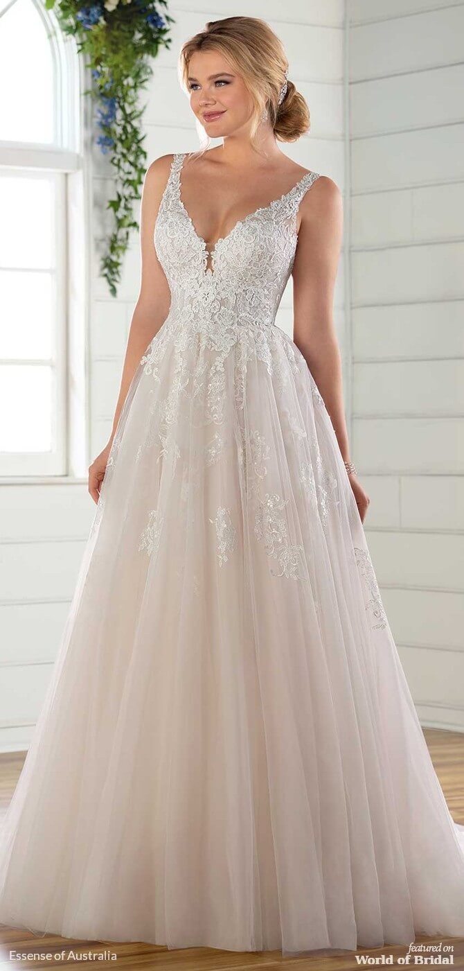 171569a1474 Essense Of Australia Long Sleeve Wedding Dress