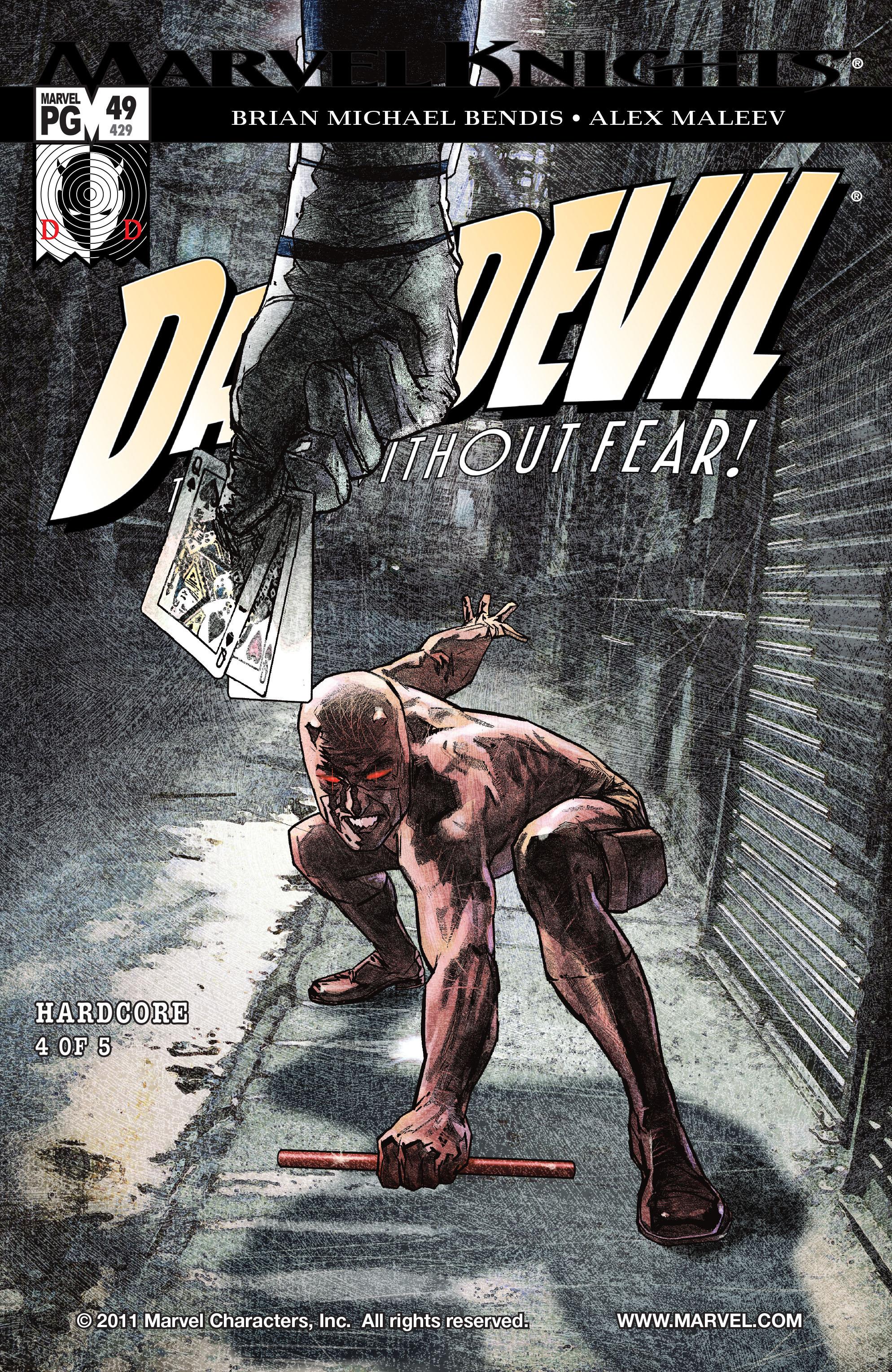 Daredevil (1998) 49 Page 1