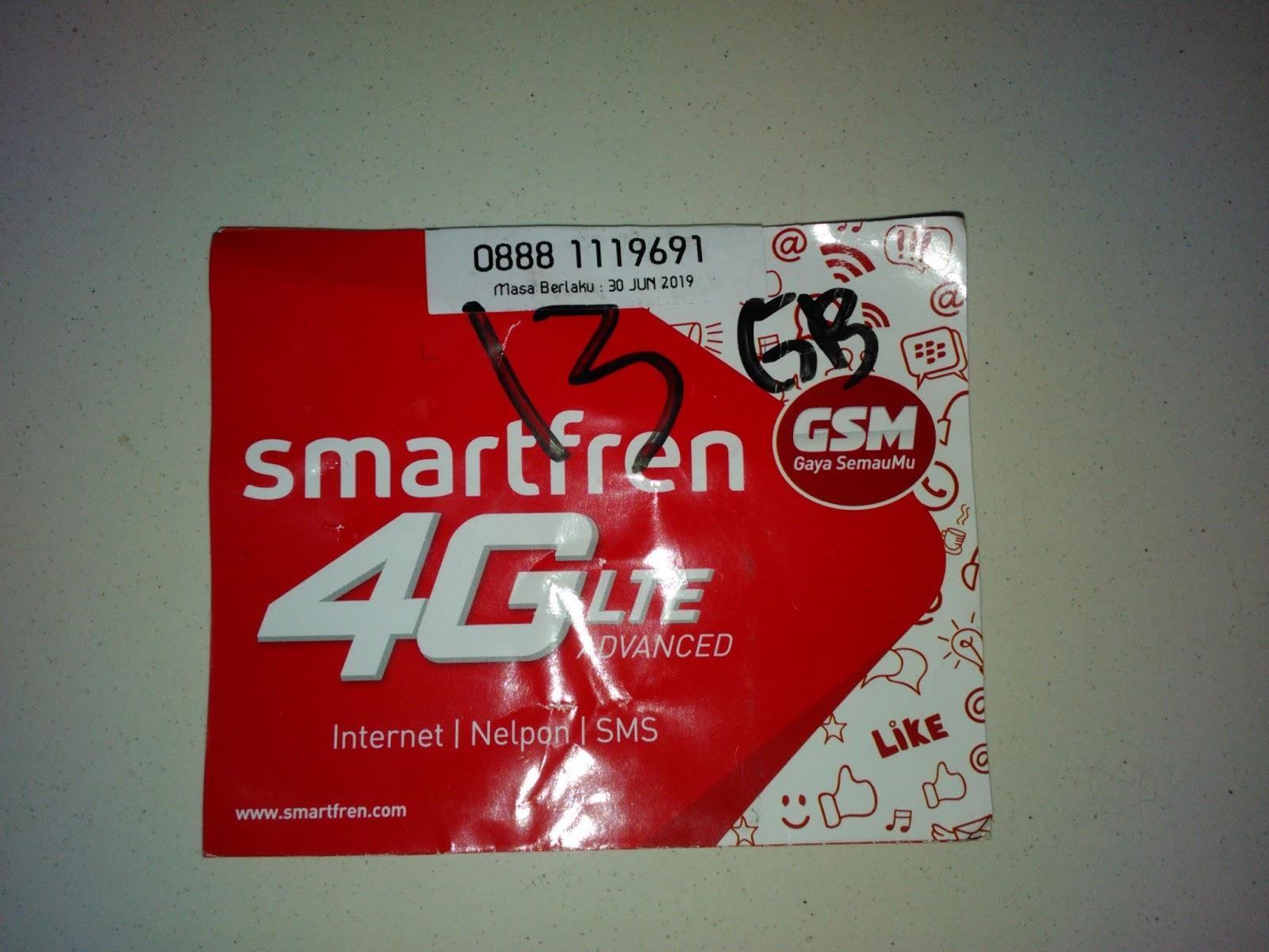 Paket Internet Murah Smartfren 13 GB 50 Ribu 24 Jam