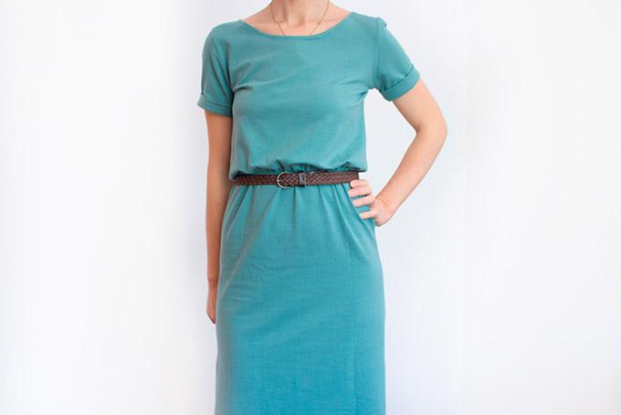 como-hacer-un-vestido-elastico-cintura-manga-bajo-vuelto
