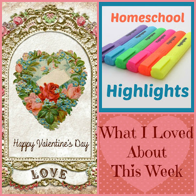 Homeschool Highlights - What I Loved About This Week on Homeschool Coffee Break @ kympossibleblog.blogspot.com - Join in and share what's happening in your homeschool! #HomeschoolHighlights  #homeschool
