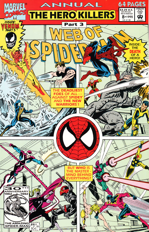 Web of Spider-Man (1985) _Annual 8 #8 - English 1