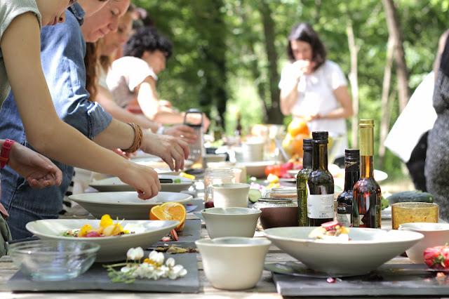 cocina sensorial - moeraki & albahaca fresca