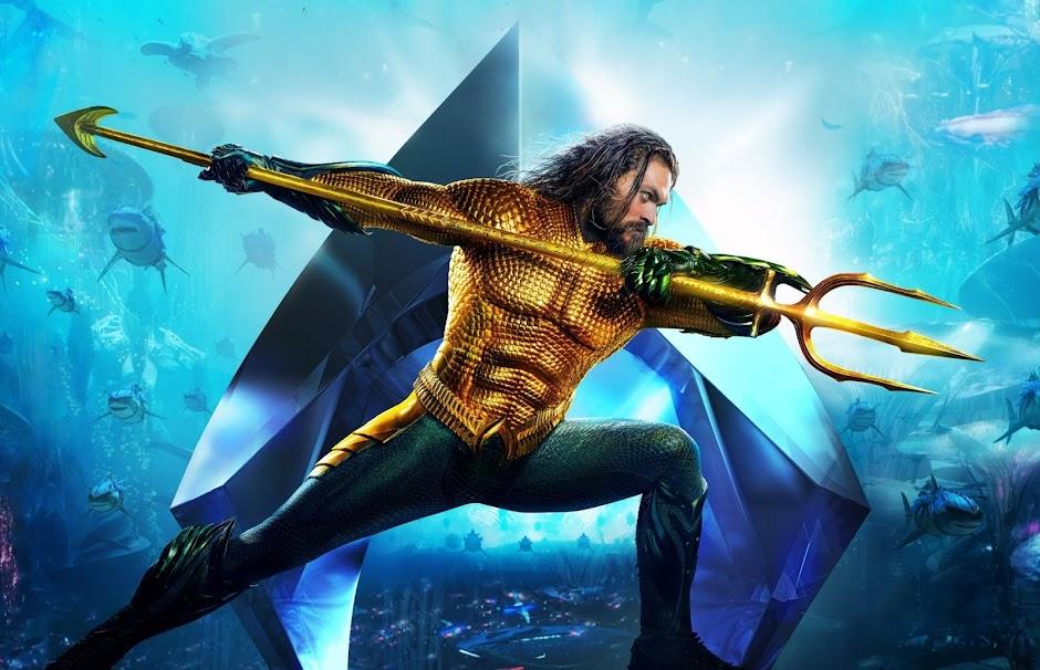 """""""Aquaman"""" se torna o filme de super-herói da DC de maior bilheteria"""