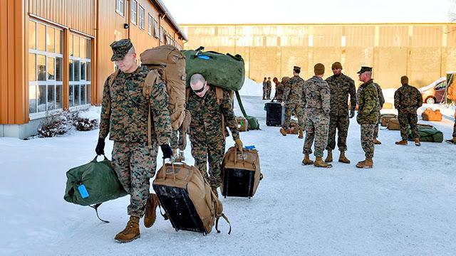Un compromiso roto: Noruega recibe tropas de Estados Unidos