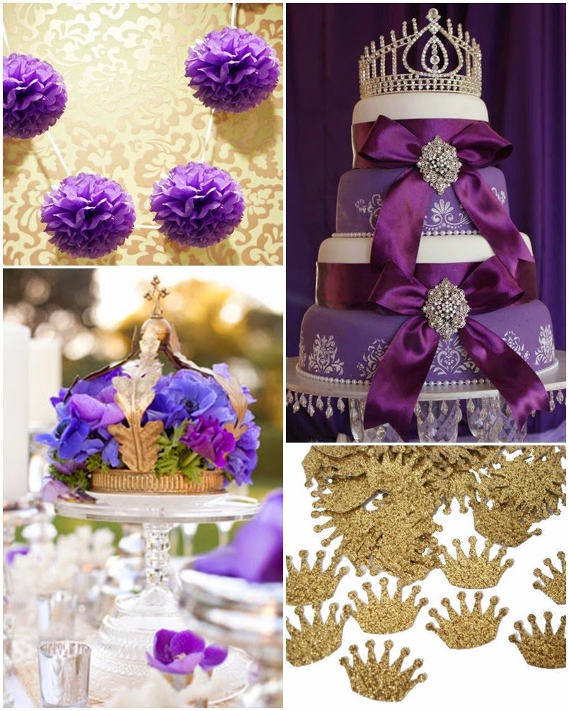 Purple Princess A Royal Sweet Fifteen Quinceanera Theme