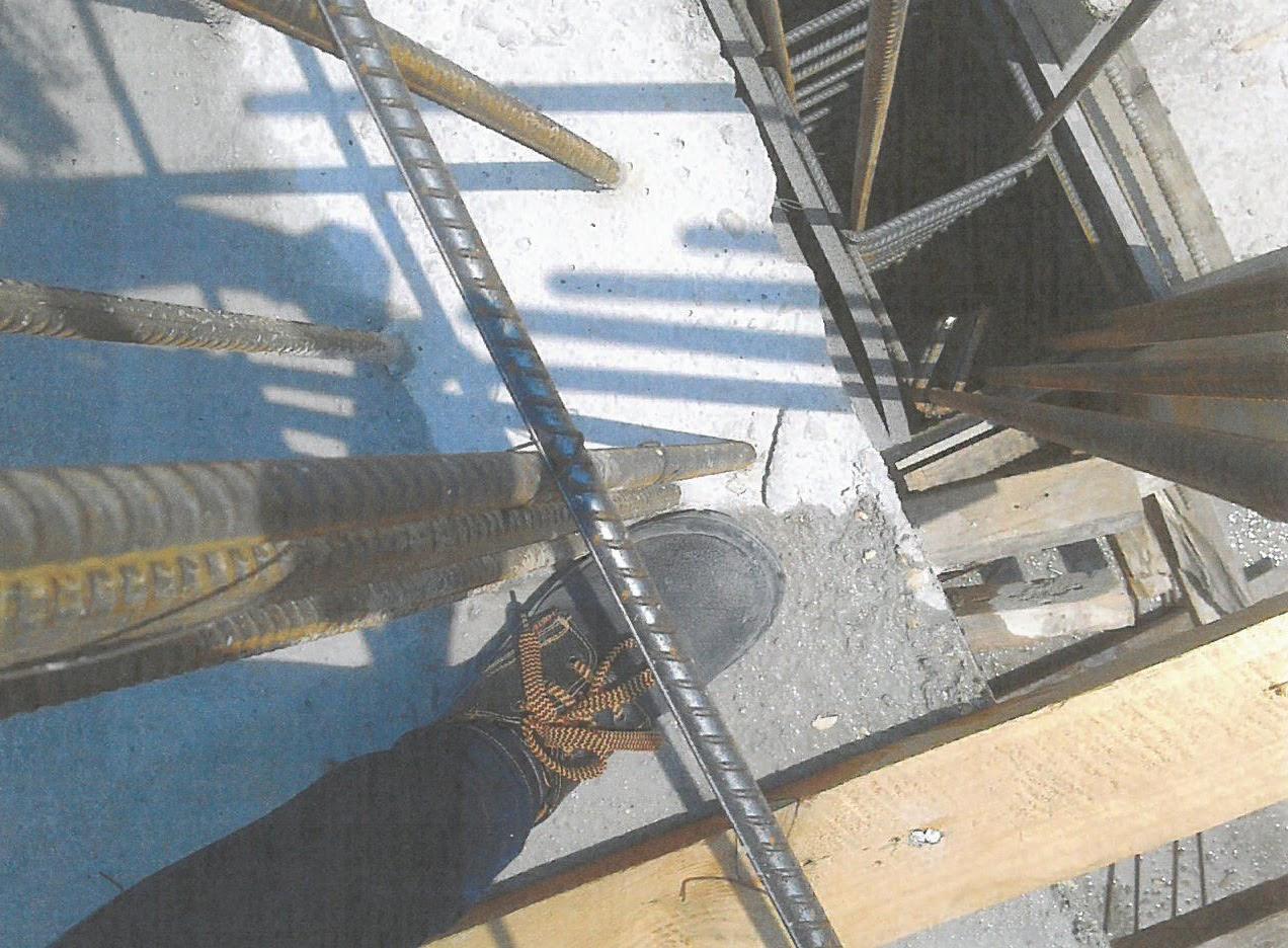 Beton süngerleri için taç: anlatma
