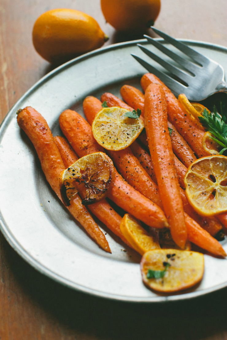 tumblr inspiration / roasted carrots