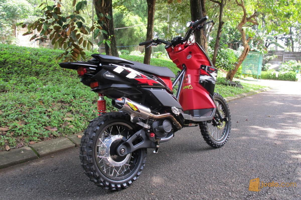 85 Modifikasi Motor X Ride Trail   Modifikasi Trail
