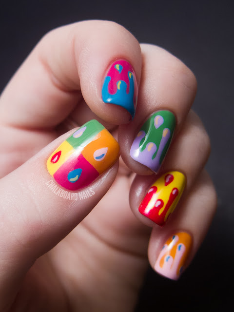 31dc2012 Day 10 Gradient Nails: 31DC2012: Day 27, Inspired By Artwork
