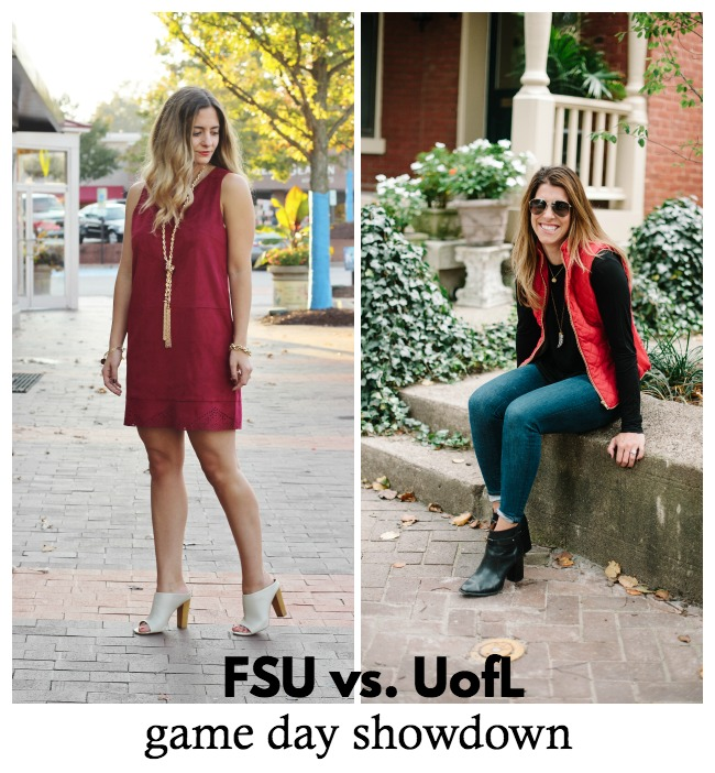 Game Day Outfit  Garnet Suede Shift Dress 74231acaa
