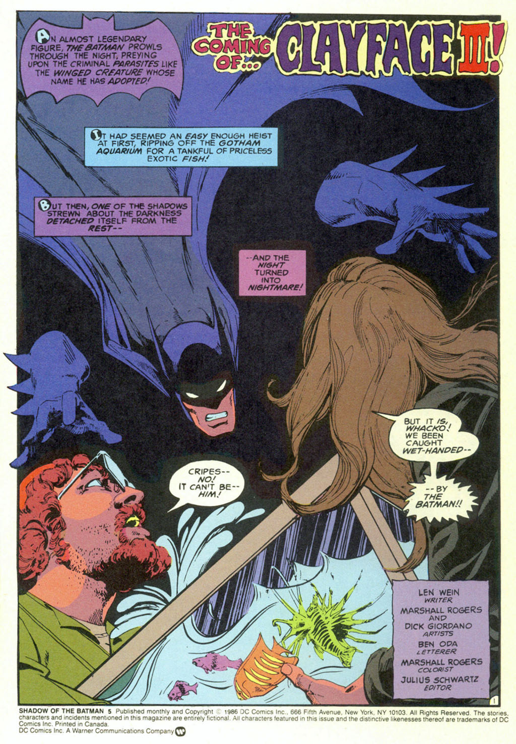 Read online Shadow of the Batman comic -  Issue #5 - 4
