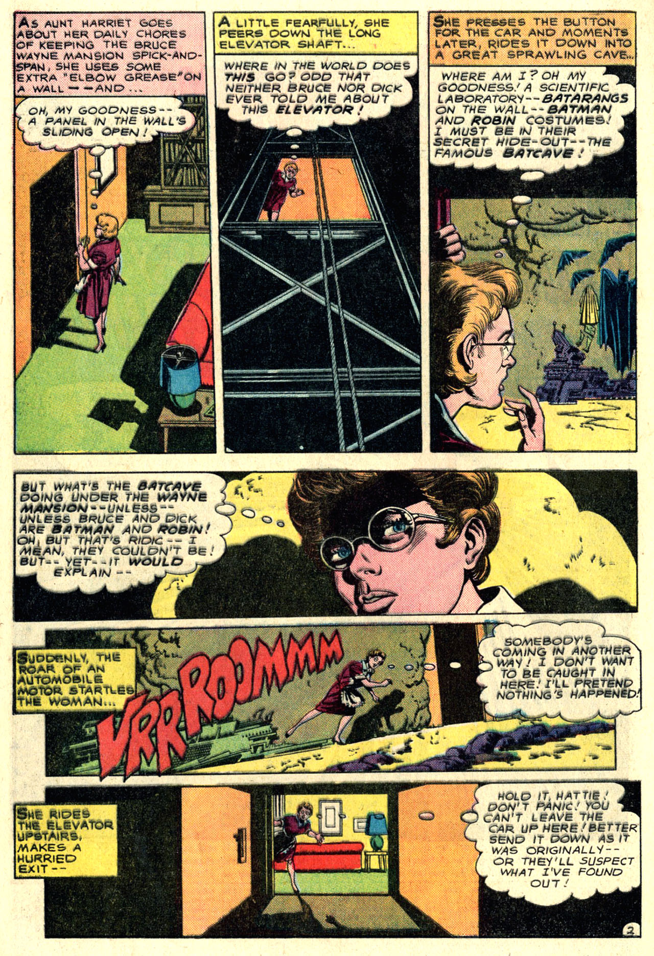 Detective Comics (1937) 351 Page 3
