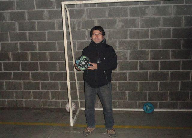 Marcelo Maldonado, presidente escuela de fútbol