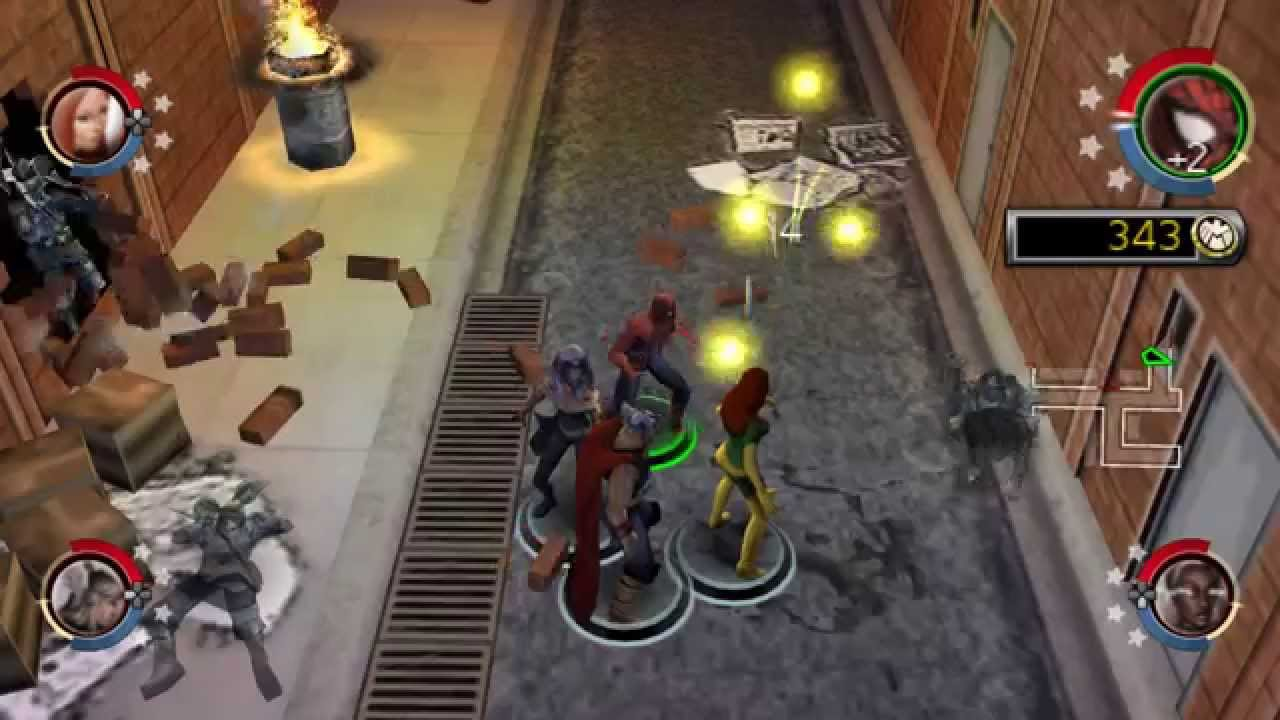 Marvel Ultimate Alliance 2 ISO for PPSSPP - Download ...