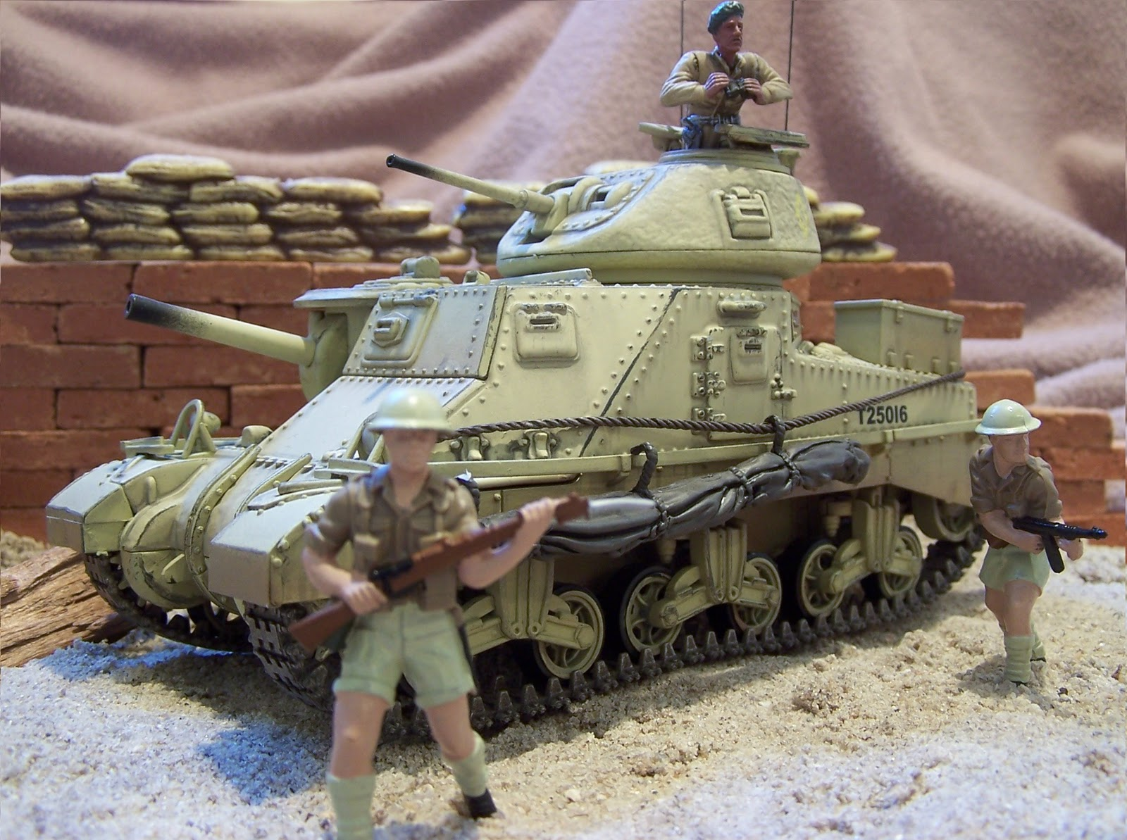 WWII Plastic Toy Soldiers: British Tanks