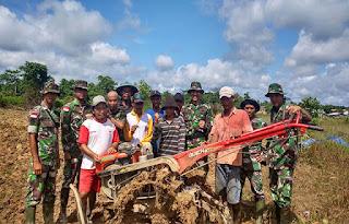 Bangun Ketahanan Pangan, Kostrad Berikan Traktor Untuk Petani