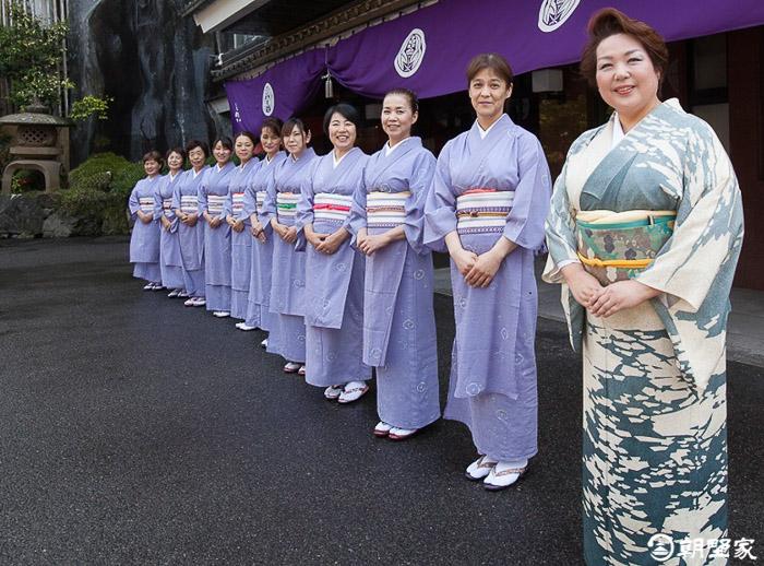 ryokan asanoya comité d'accueil personnel