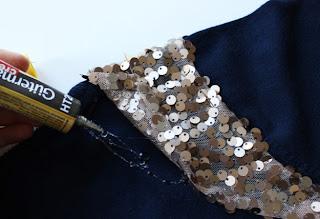 Pullu Payetlerle Tişört Süsleme