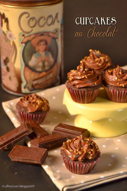 Recette cupcakes chocolat - muffinzlover.blogspot.fr