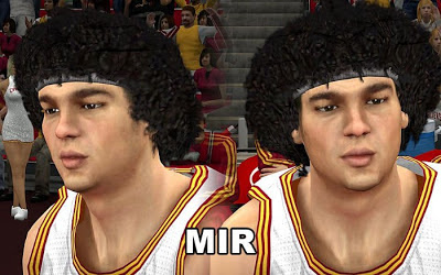 NBA 2K13 Anderson Varejao Cyberface Patch