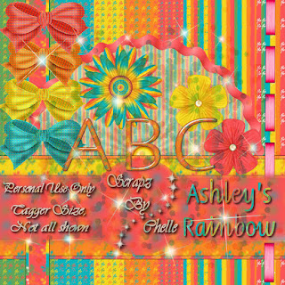 Freebie Ashleys Rainbow