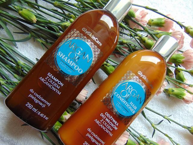 GlySkinCare ARGAN OIL - Szampon i odżywka do włosów z olejem arganowym - opinia