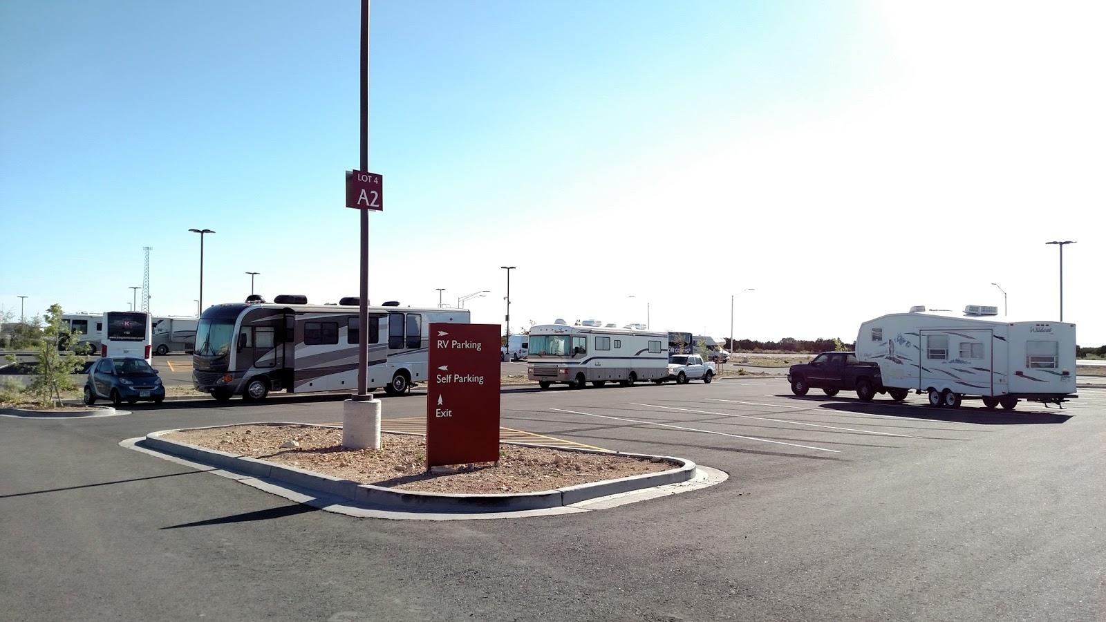 twin arrows casino rv parking
