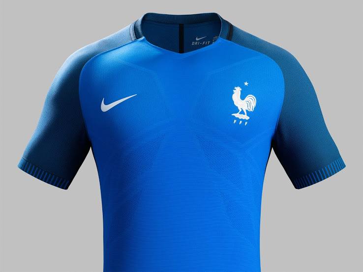 France Euro 2016 Home Jersey